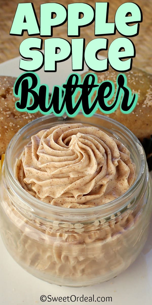 Jar of Apple Spice Butter