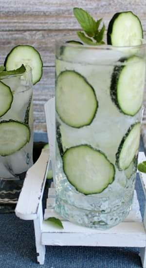 Cucumber Mint Highballs