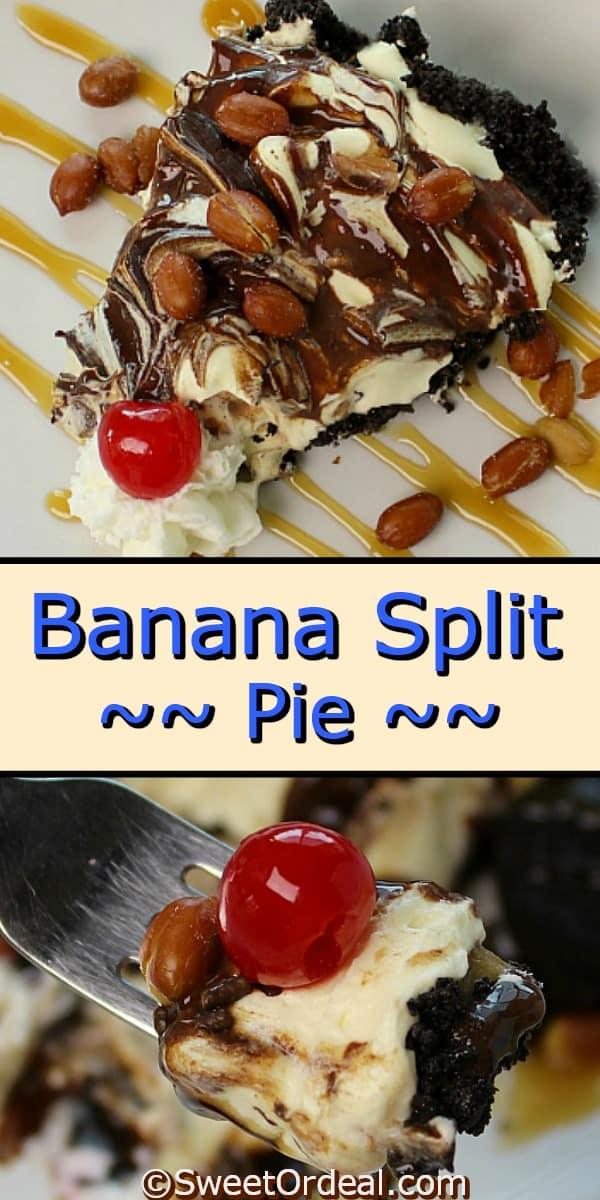 Banana Split Pie