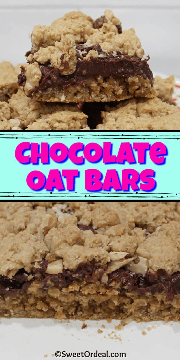 Chocolate Oat Bars