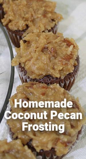 Homemade Coconut Pecan Frosting