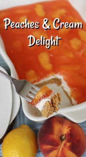 Peaches and Cream Delight