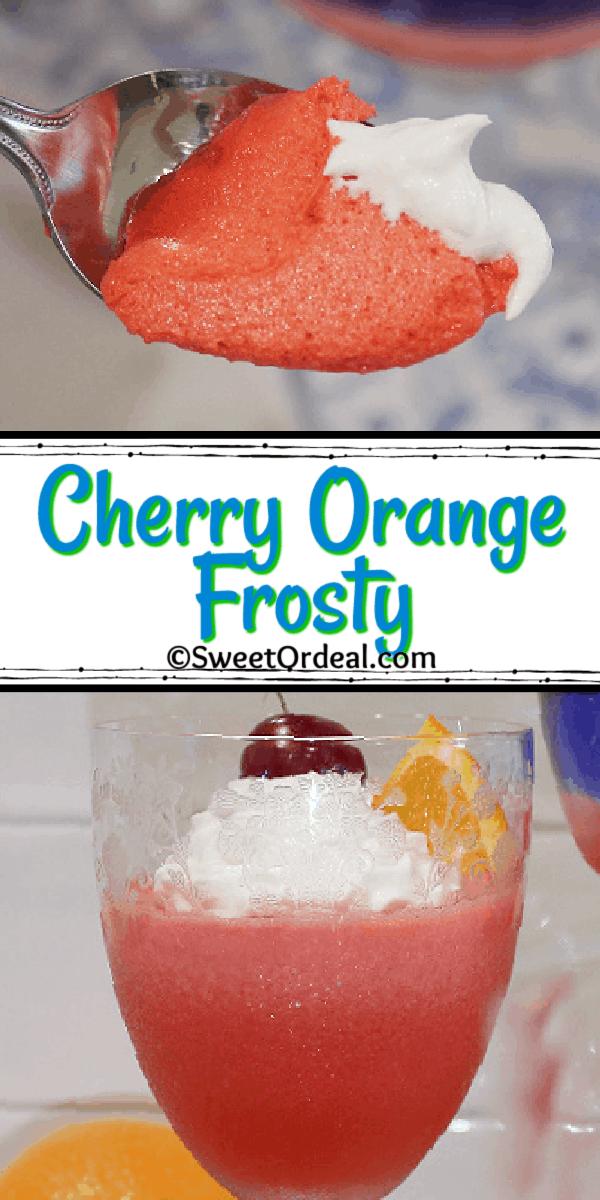 Cherry Orange Frosty