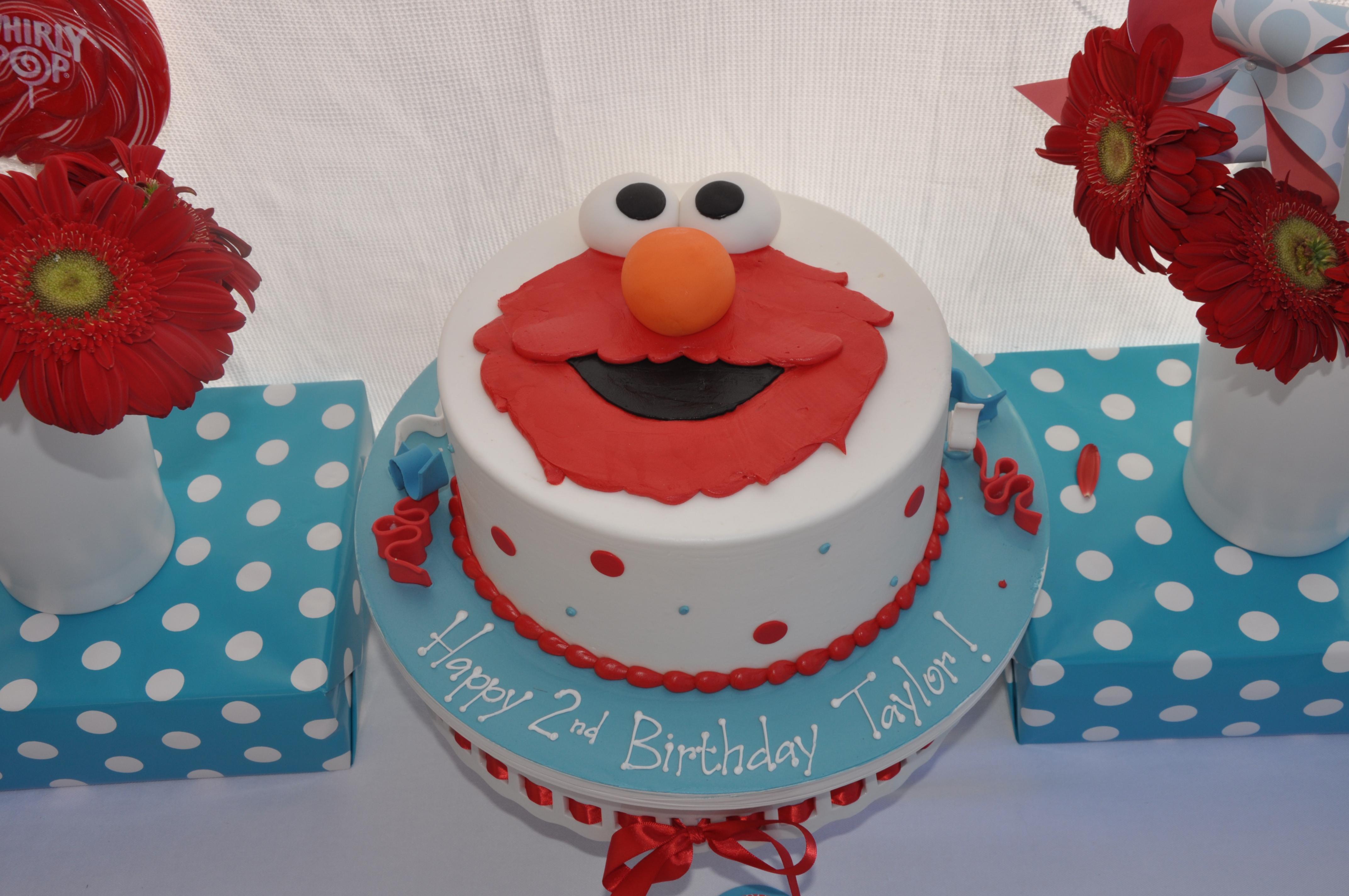 The Elmo Red Velvet Cake Recipe