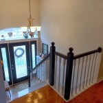 More Entryway Progress- Black Newel Posts