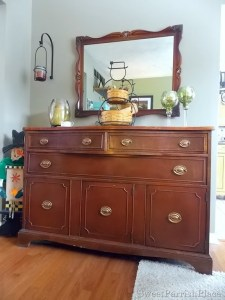 Dining Room Buffet–Organization