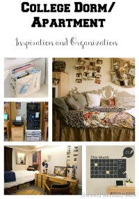 College Dorm Room/Apartment Inspiration and Organization ...