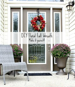 DIY Fall Wreath- Tutorial