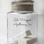 Trashtastic Tuesday- Jute Wrapped Apothecary Jar