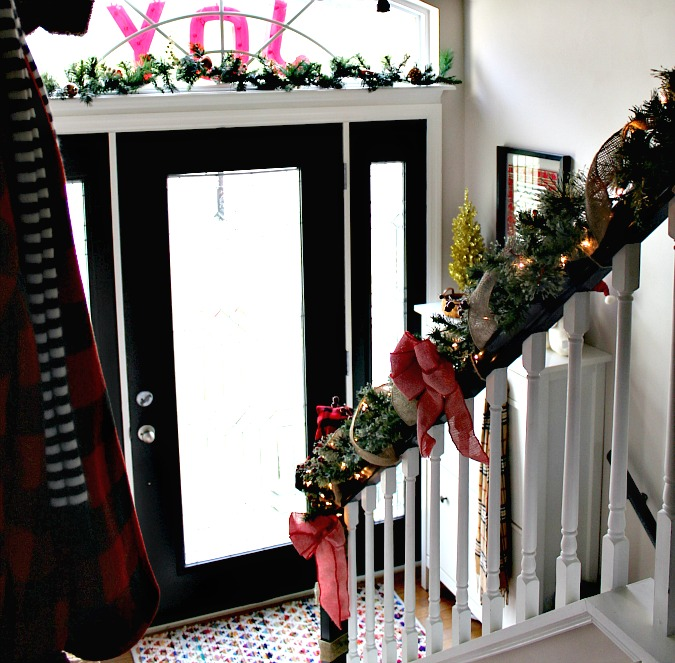 Christmas Entryway