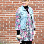 Floral Tunic Styled for Late Winter