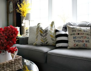 Spring Home Tour Part Two – Living Room