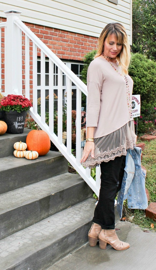 Carolina lace tunic