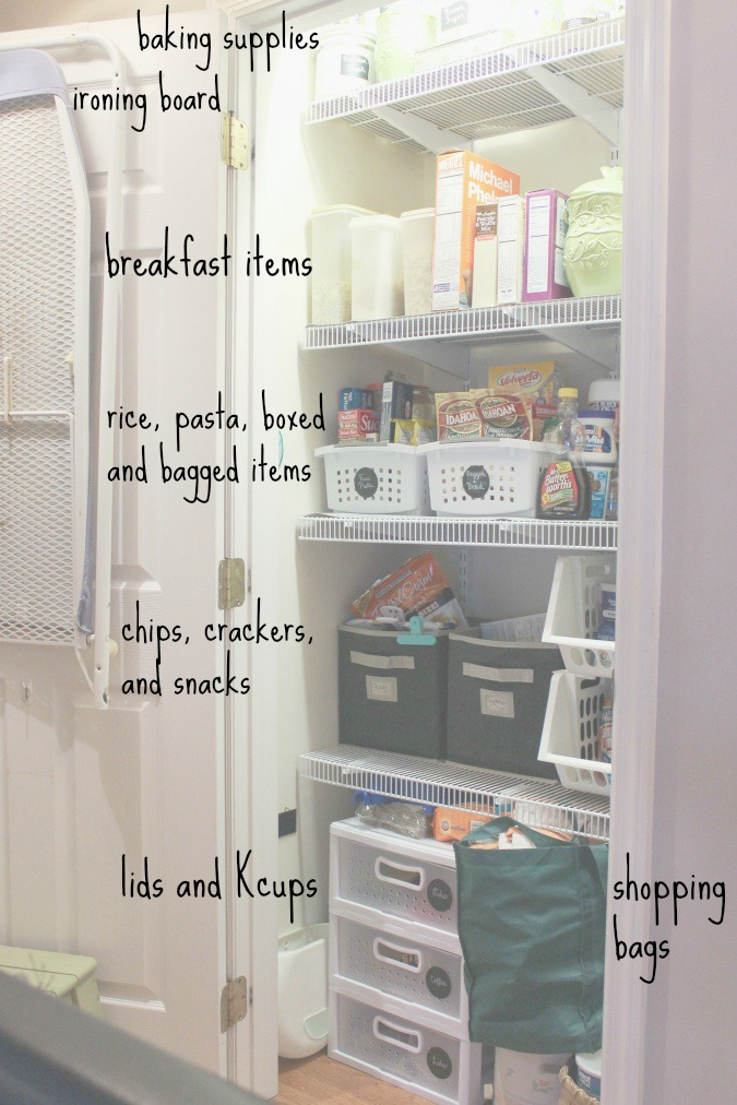 pantry organization-organize your home