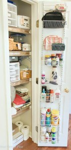 Ideas and Incentive to Organize Your Home- Week 4- Storage Closets