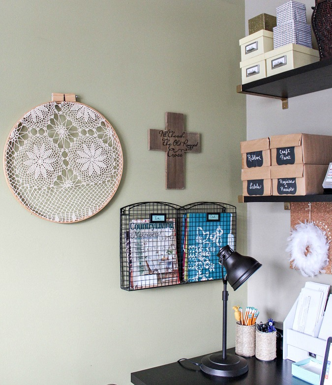 Ideas and Incentive to Organize Your Home-Craft/Office Space