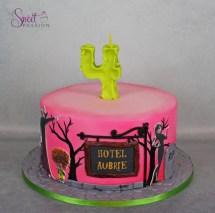 Hotel Transylvania Cake Sweet Passion Cakery
