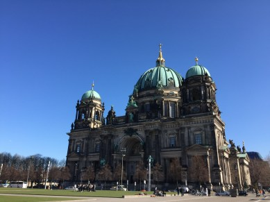 Cathedral near Museum island
