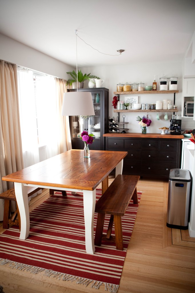 DIY reclaimed barnwood dining table  the secret life of