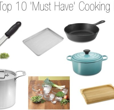 Top 10 Must Have Cooking Items