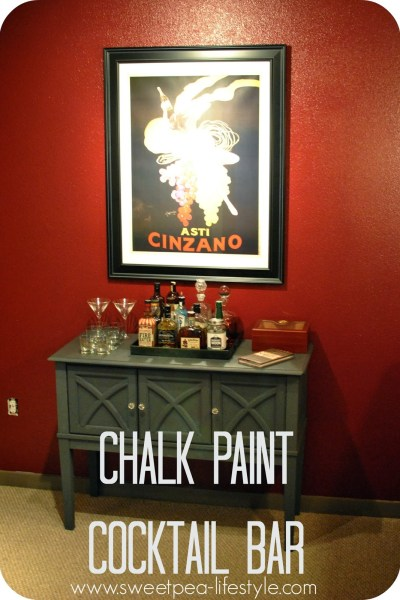 Annie Sloan Chalk Paint Cocktail Bar