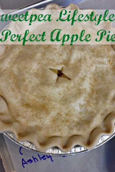 Sweetpea Lifestyle's Perfect Apple Pie.