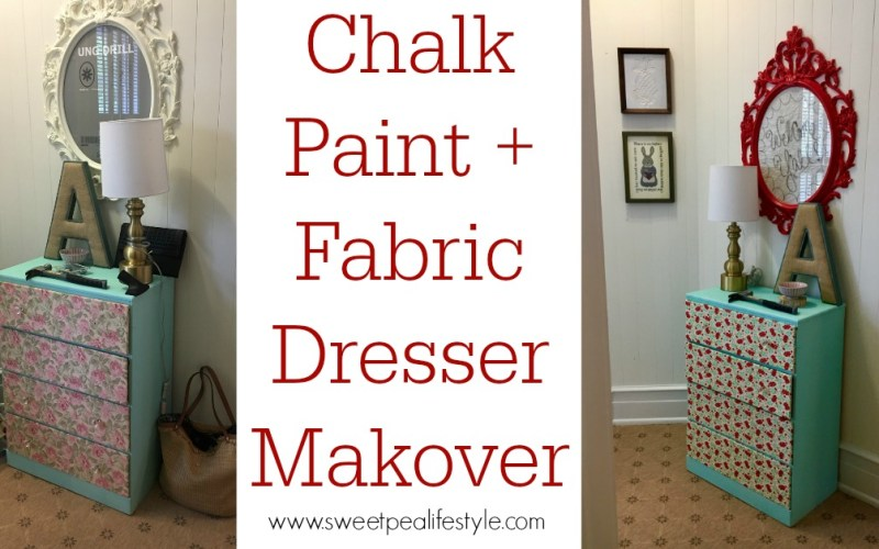 Quick & Easy Dresser Makeover