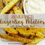 Roasted Potatoes with Lemon Garlic Aioli