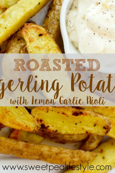 Roasted Potatoes with Lemon Garlic Aioli