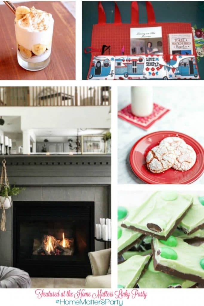 Come join the fun and link your blog posts at the Home Matters Linky Party. Find inspiration, recipes, decor, crafts, organize, home, garden, repurpose, upcycle -- Door Opens Friday EST. #diy #recipe #home #lifestyle