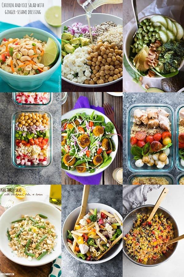 54 healthy lunch ideas