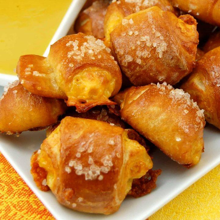 Pretzel Bites with Cheese