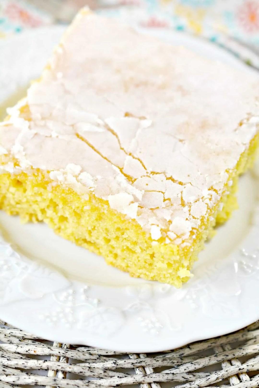 Lemon Cake to Die For