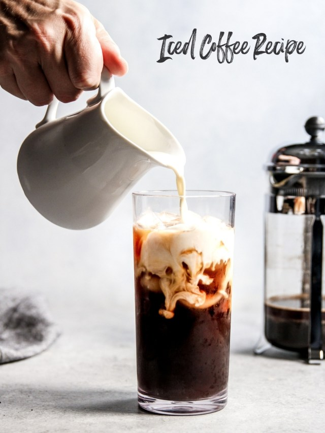 Starbucks Iced Coffee Copycat Recipe