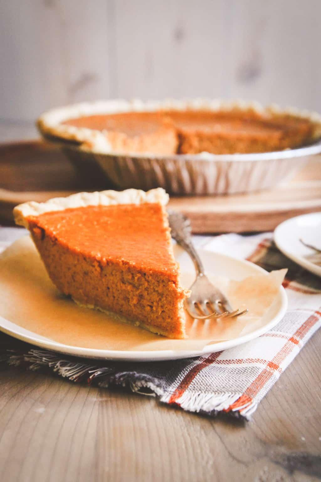 Easy 5 Ingre Nt Pumpkin Pie Recipe