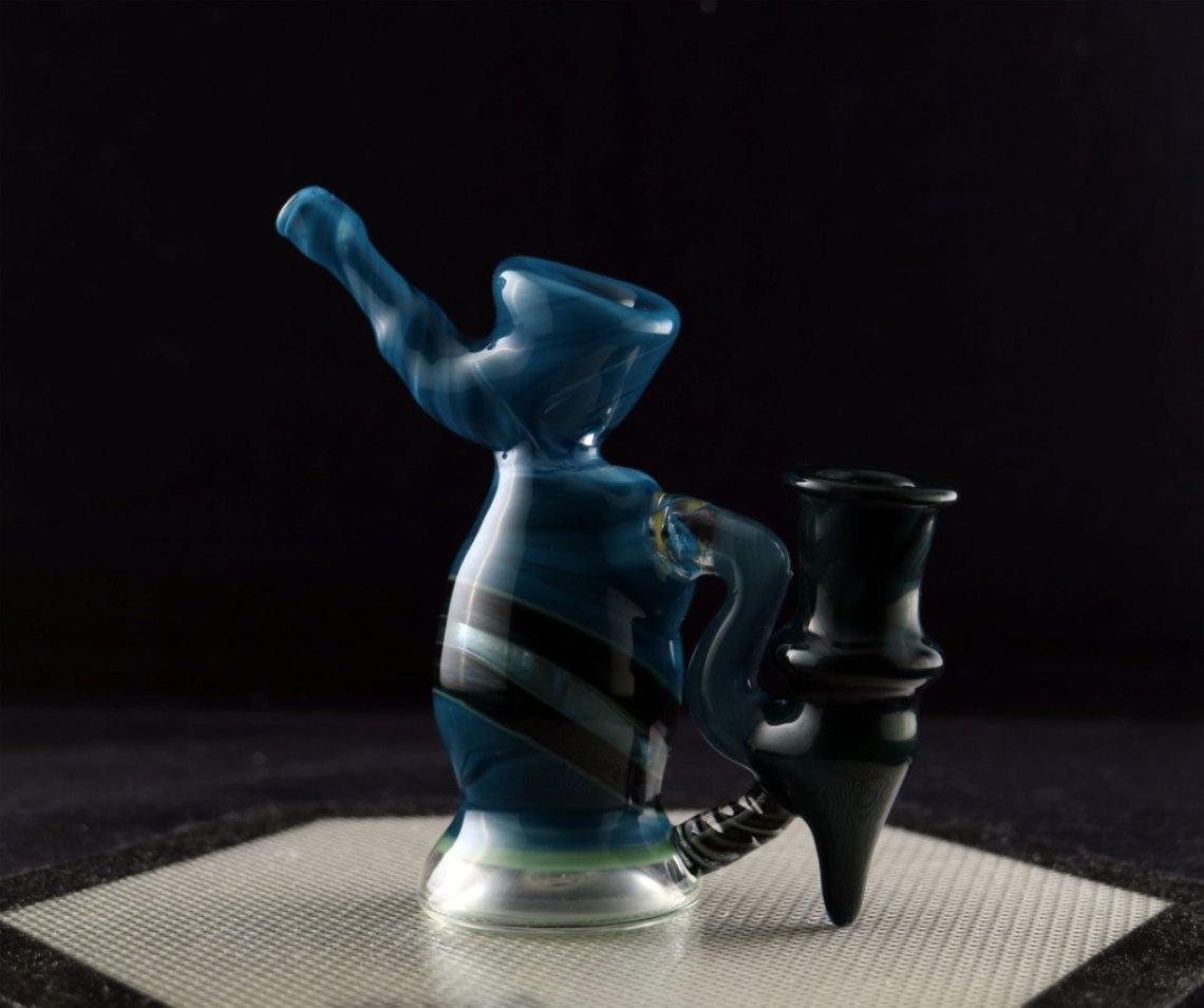 Hetman Glass – Sherlock Style 14 mm Mini Banger Hanger