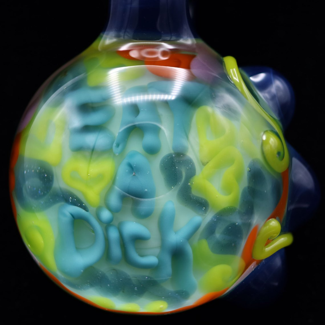 Junebug Glass – Eat a Dick Pendant
