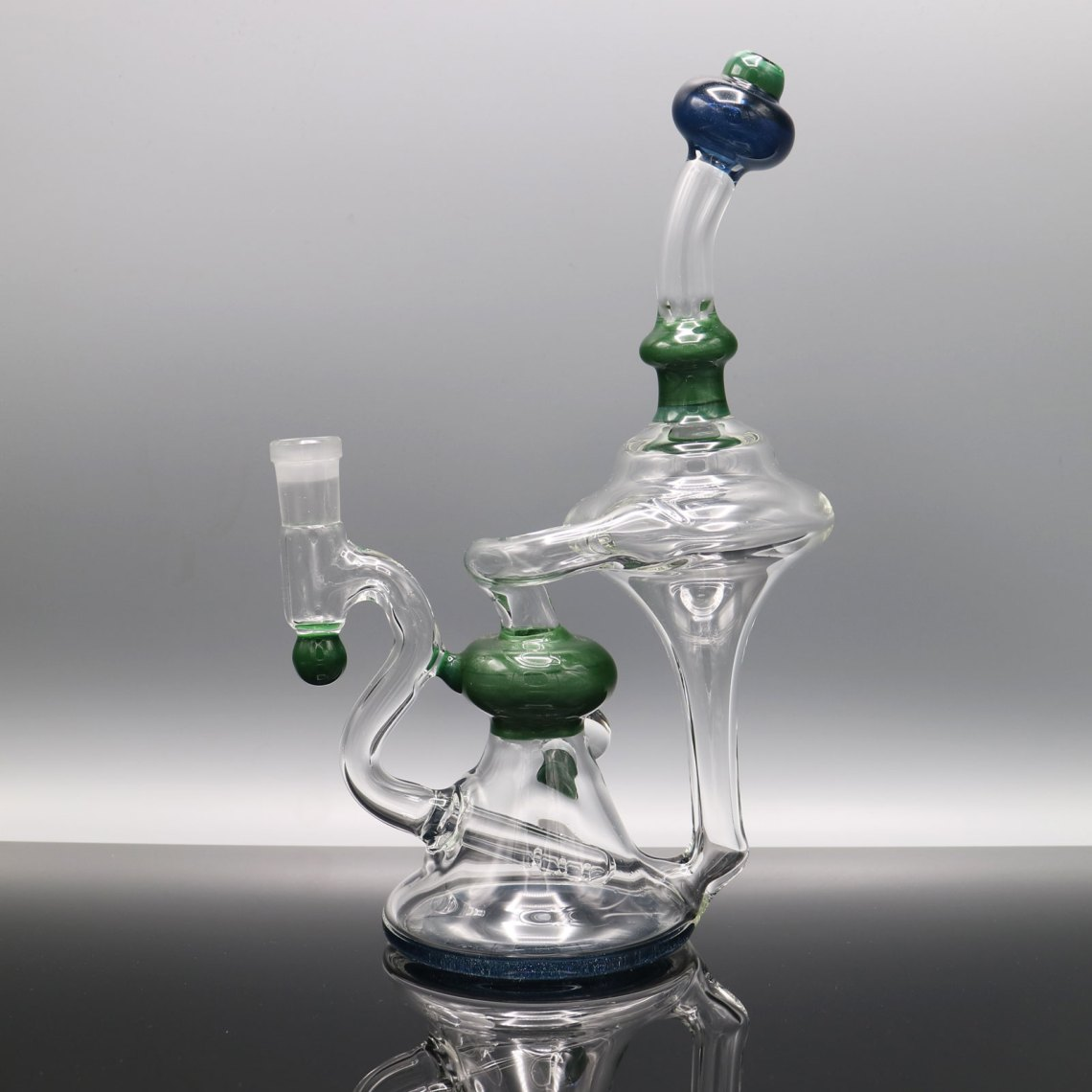 Chappell Glass – Green and Blue Recycler