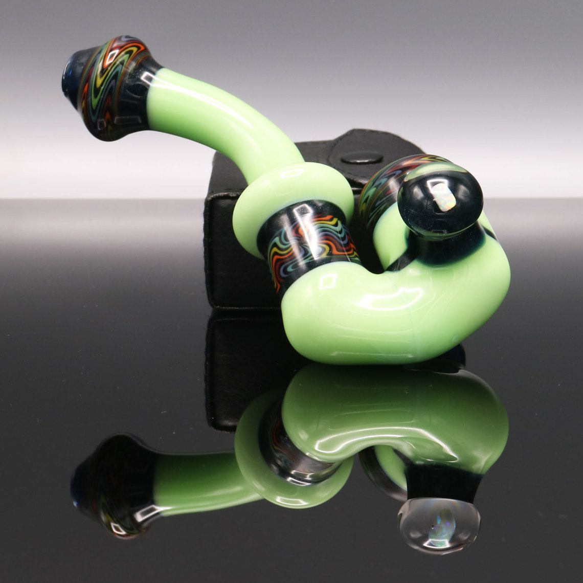 Chappell Glass – Green and Black Sherlock