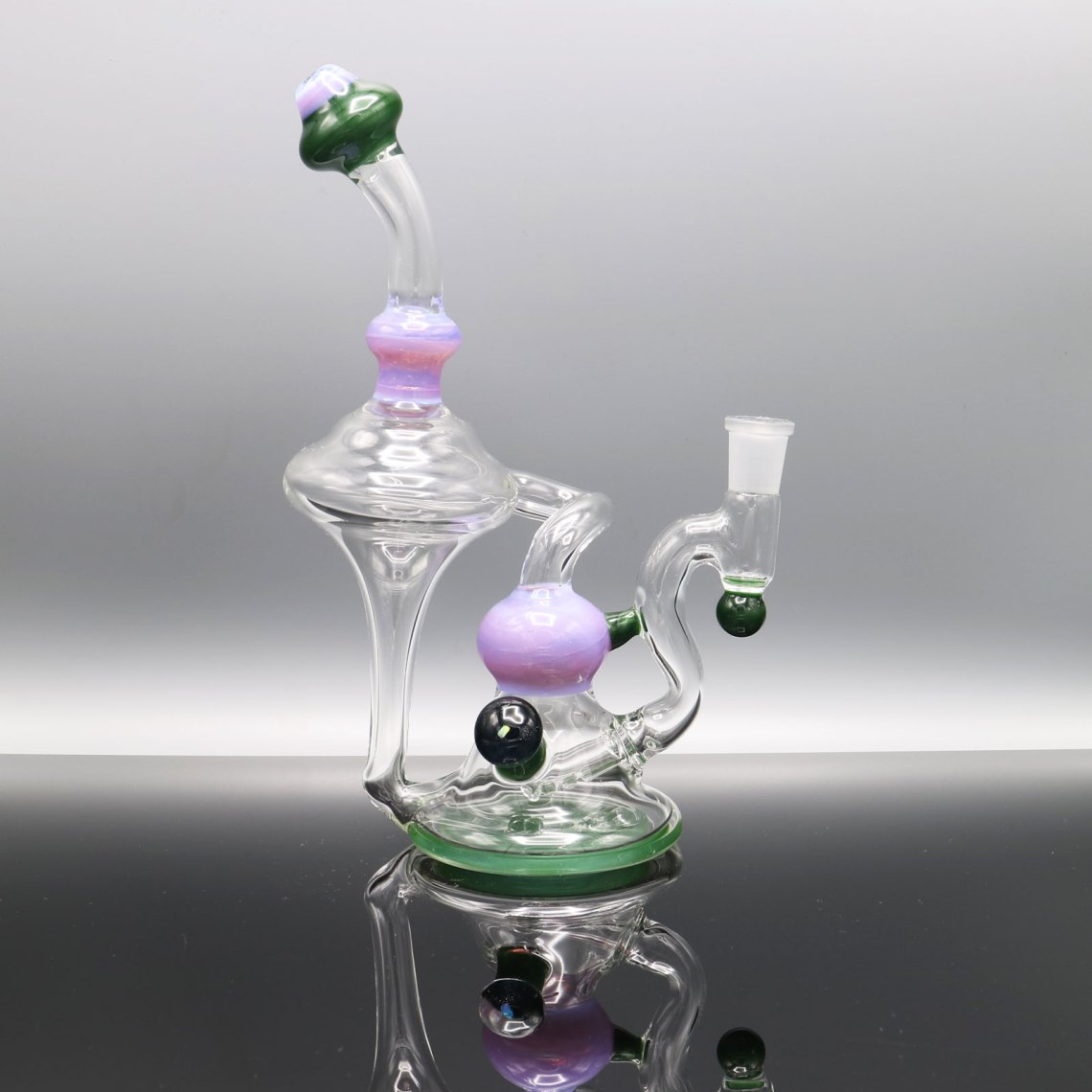Chappell Glass – Purple and Green Recycler