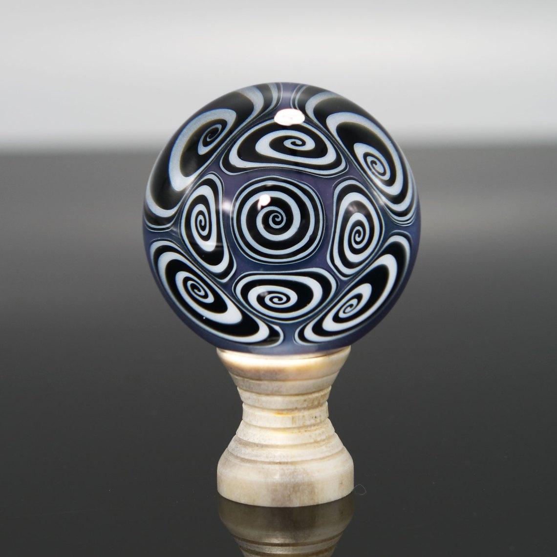 Kaja Glass – CFL Microspiral Marble