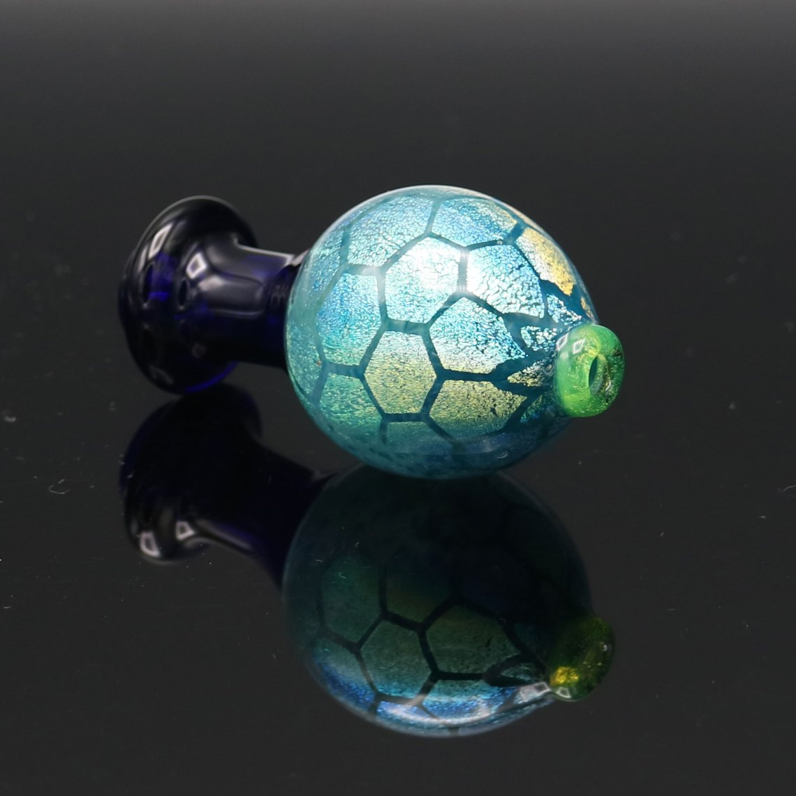 Twisted Designs Glass – Dichro Bubblecap