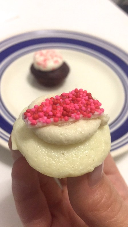 Sugar Cookie Cheesecake mini cupcake- for sugar lovers only!