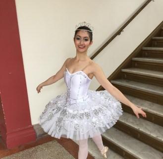 """Posing in my third act """"Diamond"""" costume"""