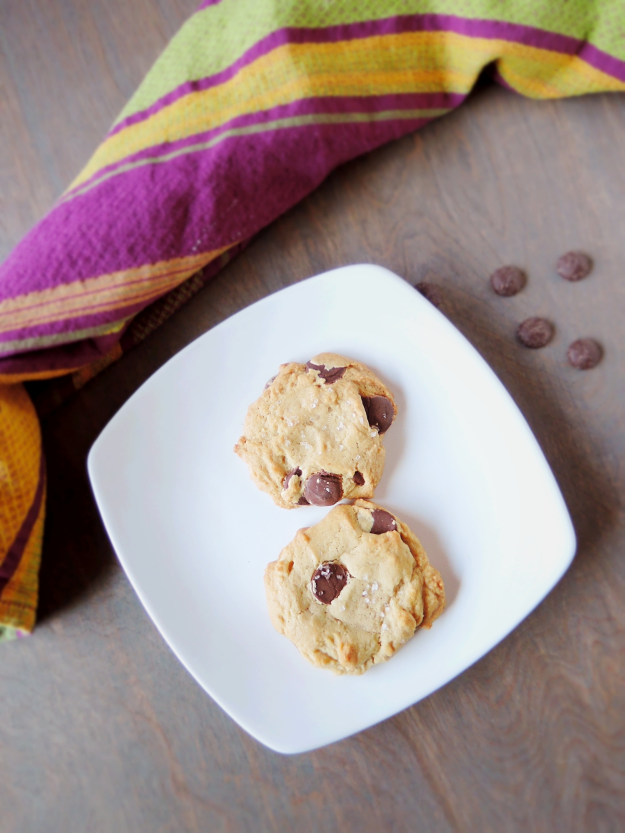 Salted Chocolate Chip Cookies a la SmittenKitchen - Sweet Poppy Seed