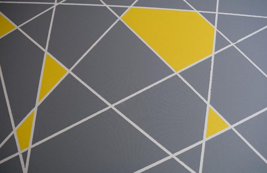 diy modern lines canvas art.9