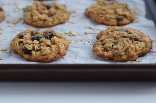 oatmeal raisin cookies.#glutenfree #easy #fast