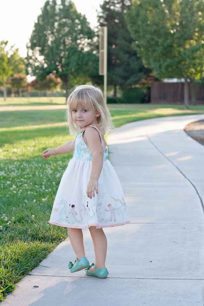 Simple Life Pattern Company Molly Dress PDF Sewing Pattern