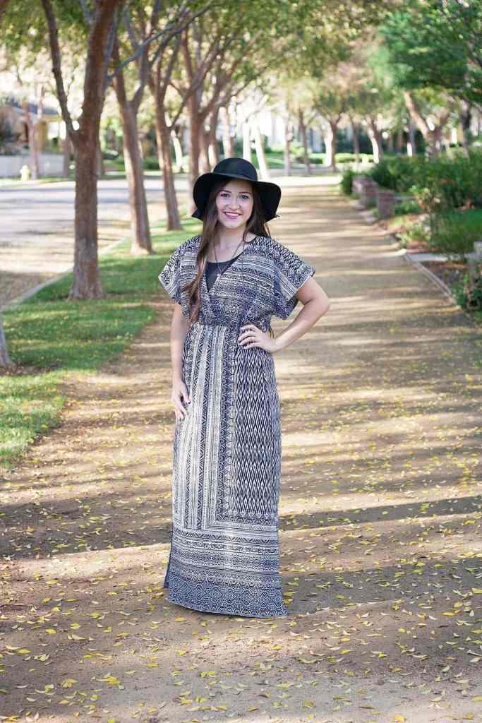 Michael Levine Fabric Designer Stitch Gypsy Dress