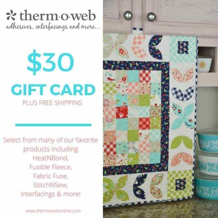Thermoweb Giveaway